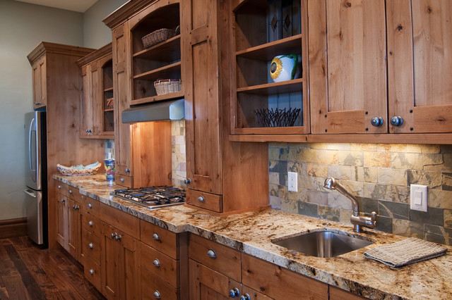 Salt Lake City, Utah Luxury Home by Markay Johnson Construction traditional-kitchen