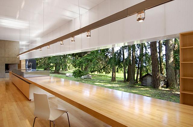 Saltspring Island - Patkau Architects modern-kitchen