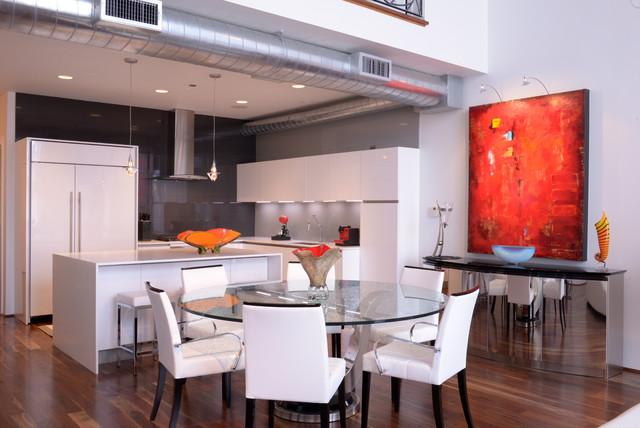 Samara Residence Andrea Petor Modern Kitchen