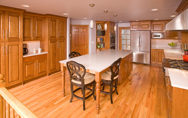 Sammamish Traditional Traditional Kitchen Seattle By Riddle Construction And Design
