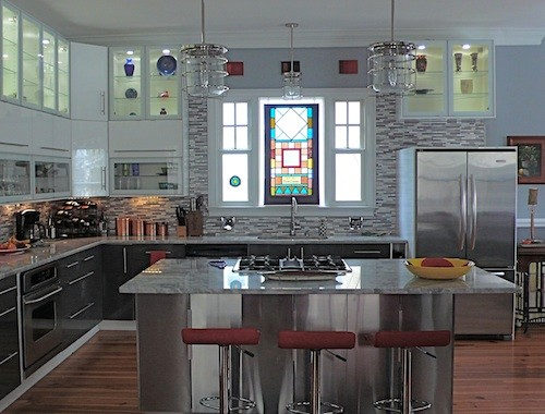 Merveilleux Design Ideas For A Contemporary Kitchen In Orange County.