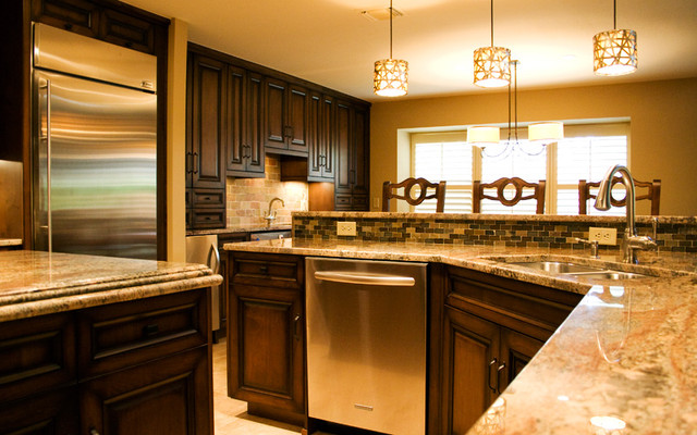 San Antonio Kitchen - Traditional - Kitchen - Other - by Stone Masters ...
