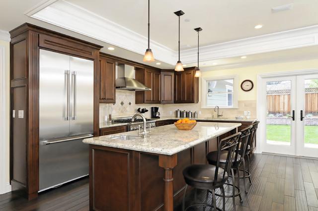 San Carlos Craftsman 2nd Story Addition craftsman-kitchen