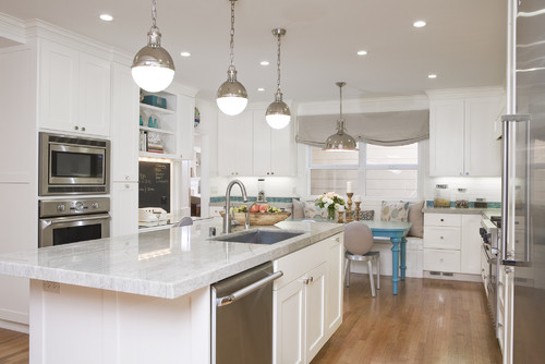 white cabinets with white countertops?