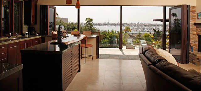 San Diego Bay Project tropical-kitchen