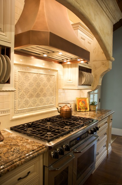 """San Diego """"Fairbanks Ranch"""", CA  French Country Residence traditional-kitchen"""