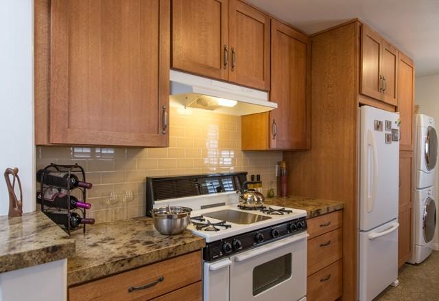 San diego galley kitchen remodel farmhouse kitchen for Galley kitchen backsplash ideas