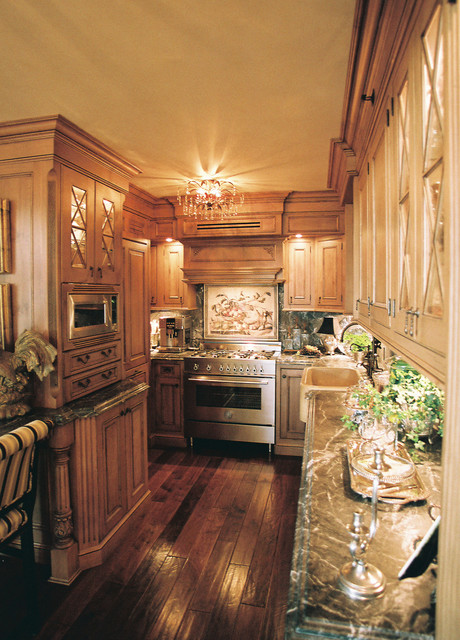 San Diego High Rise traditional-kitchen