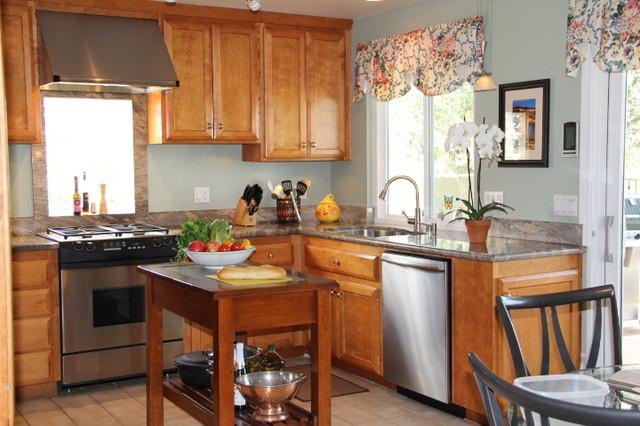 San Diego Kitchen traditional-kitchen