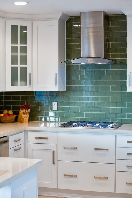 San Diego Subway Tiling Kitchen Remodel Traditional Kitchen San Diego By Remodel Works