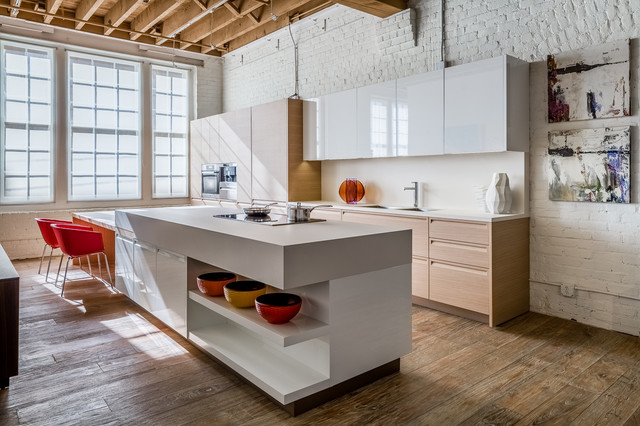 San francisco contemporary kitchen san francisco by applegate tran in - Brique decorative blanche ...