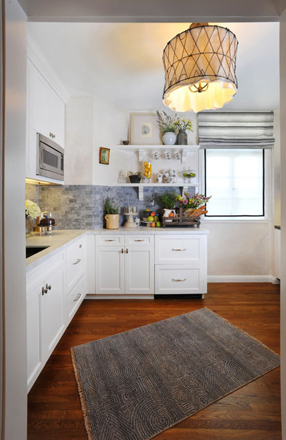 San Francisco decorator showcase house, kitchenette traditional-kitchen