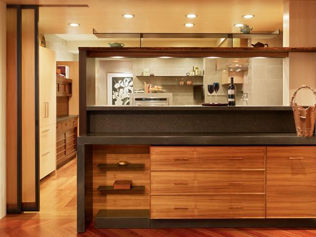 San Francisco Four Seasons Apartment Modern Kitchen