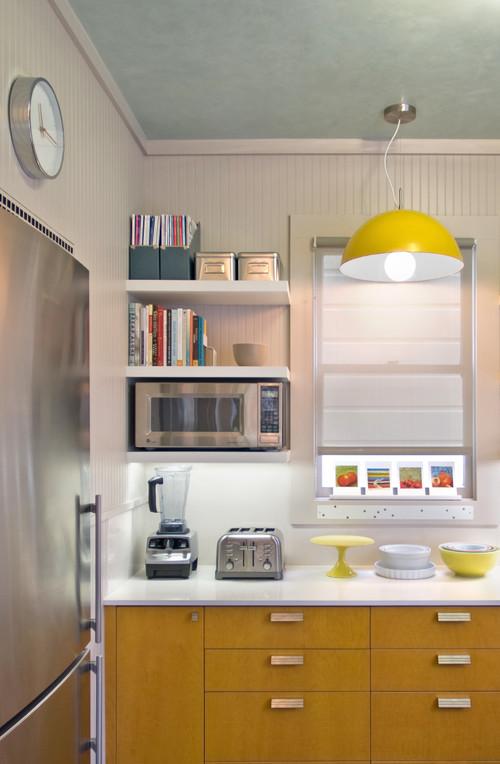 كيف ترتبين منزلك بدون عناء contemporary-kitchen