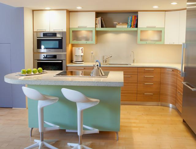 San Francisco Loft contemporary-kitchen
