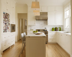 San Francisco Residence traditional kitchen
