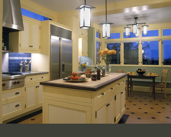 San Francisco Shingle Style traditional-kitchen