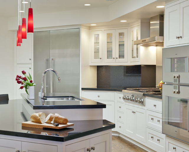San francisco sunset remodel contemporary kitchen for Kitchen remodel san francisco