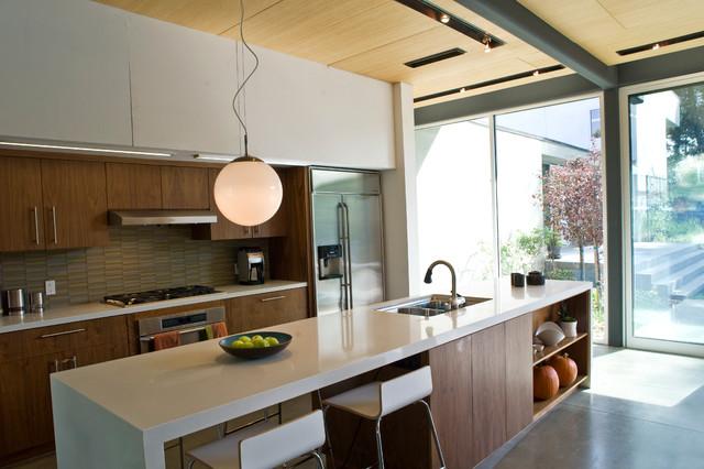San Gabriel House modern-kitchen