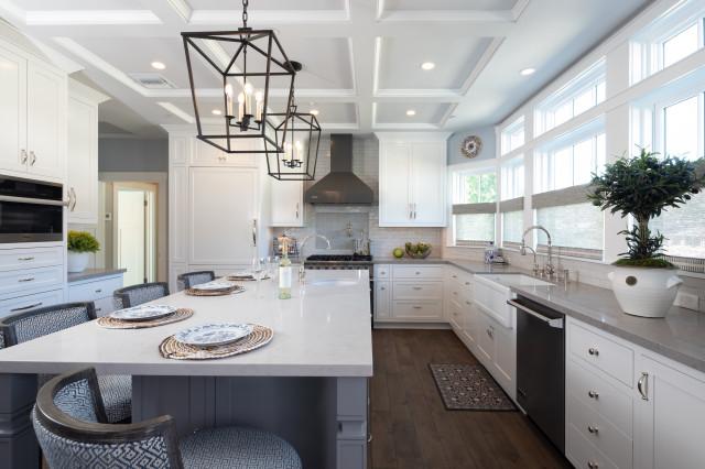 San Gabriel Valley Ca Transitional Kitchen Los Angeles By Casa Wasy Interior Design Inc