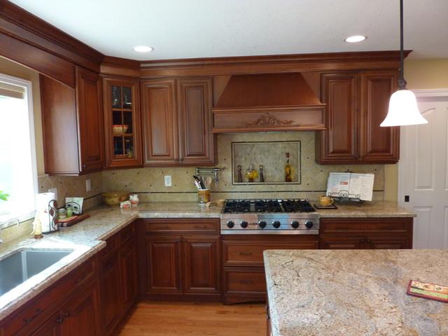 San Jose Dynasty Maple Kitchen By Signature Kitchen Bath Design Traditional Kitchen