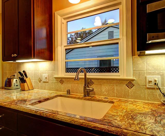 San Jose Transitional Kitchen Remodel - open space transitional-kitchen