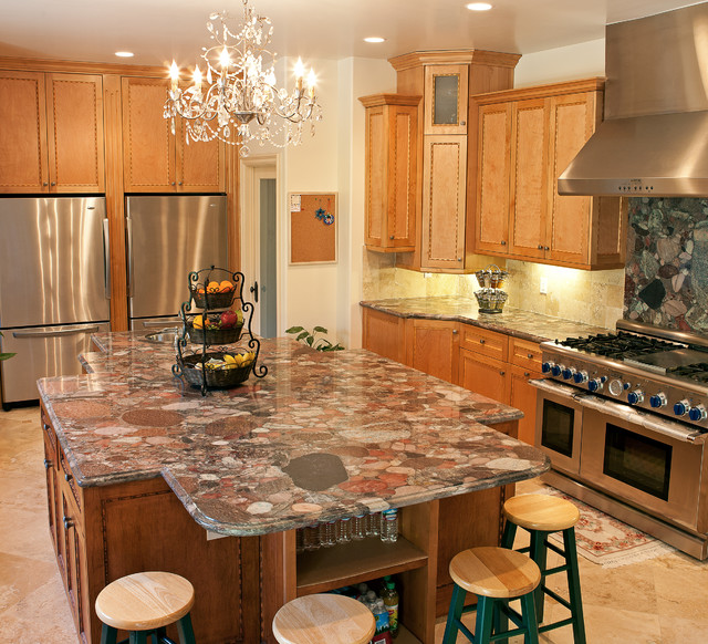 San Marino Whole House Remodeling and Addition Project traditional-kitchen