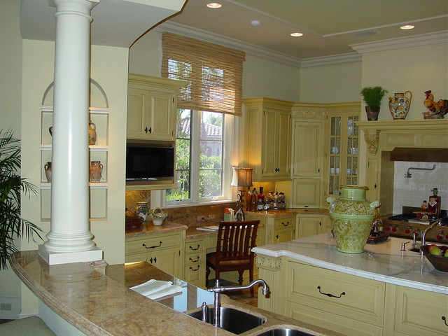 San Michelle, The Estuary @ Grey Oaks traditional-kitchen
