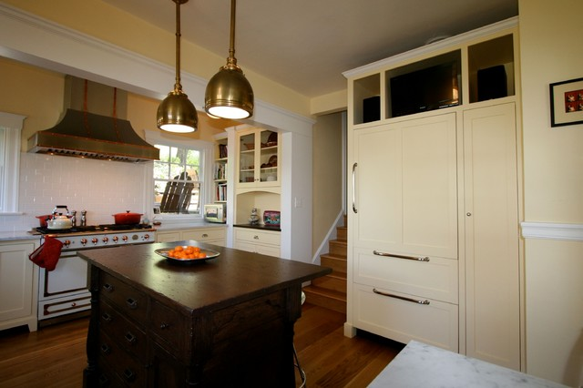 San Rafael Kitchen Traditional Kitchen San Francisco By The Englander Building Company