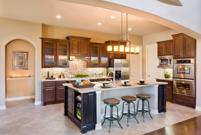 San Sebastian Kitchen by Sitterle Homes contemporary kitchen