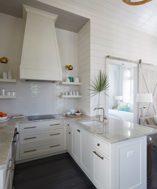 Sand Hill Residence Beach Style Kitchen Miami By