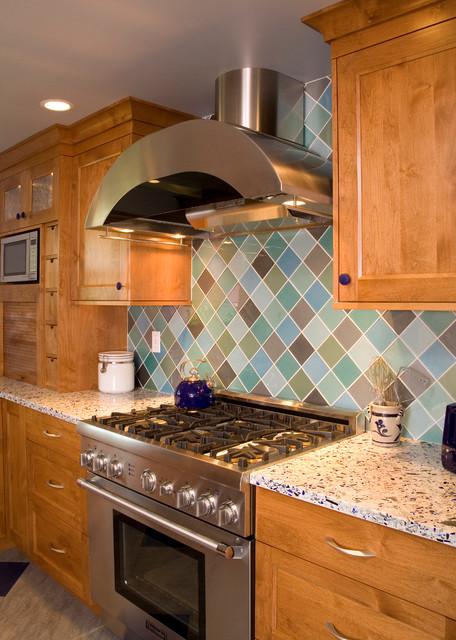 Sand Point Cottage Kitchen Remodel traditional-kitchen