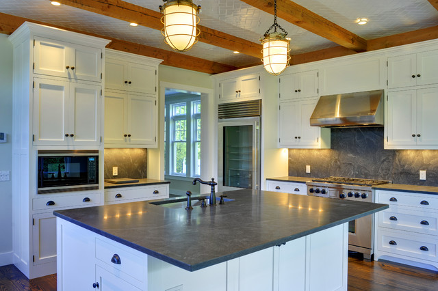 Style Traditional Kitchen Manchester NH By Yankee Barn Homes