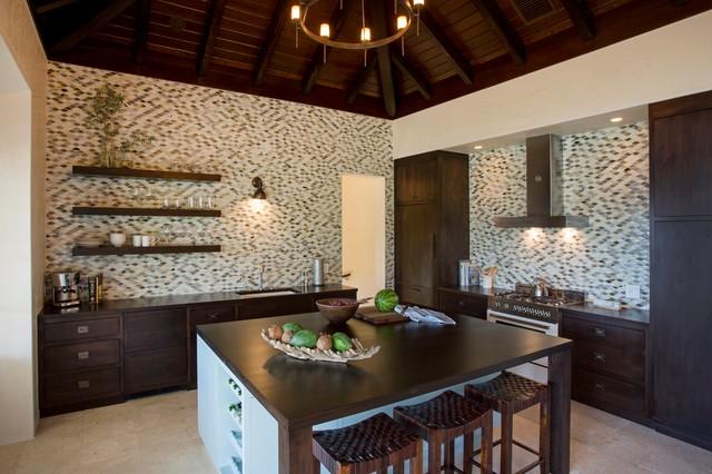 Sandy Bank Bay Villa, St. Kitts tropical-kitchen