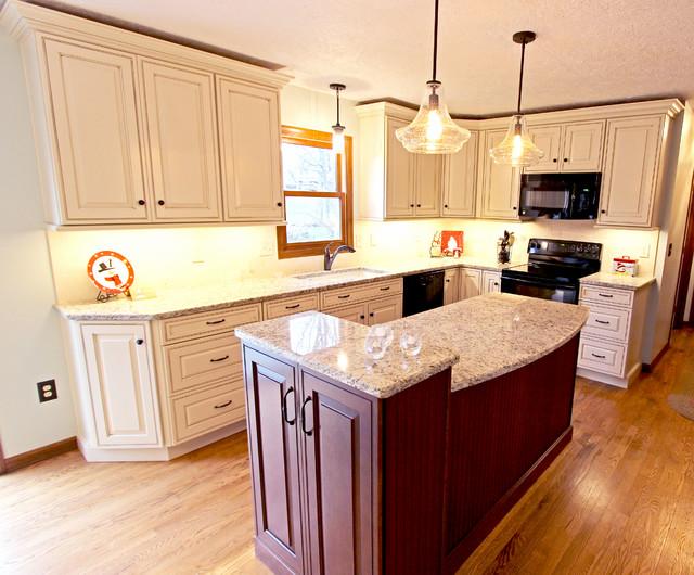 Sandy Blonde Kitchen with Granite Countertops ~ Wadsworth ...