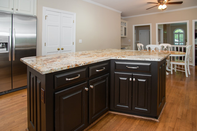 """Sandy Springs Kitchen now has a """"spring in its step"""" - Traditional ..."""