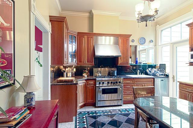 SanFranVic traditional-kitchen
