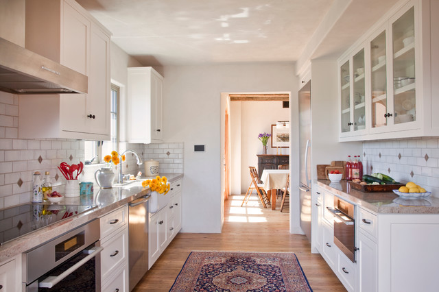 Santa barbara downtown new spanish colonial revival for Santa barbara kitchens