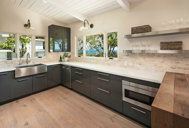 Santa barbara kitchens kitchen other by tileco for Santa barbara kitchens
