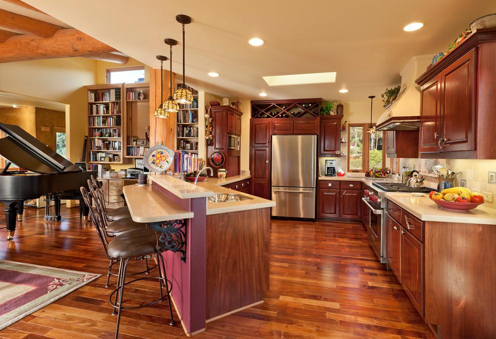 Santa Barbara Meets Taos - Eclectic - Kitchen - Santa ...