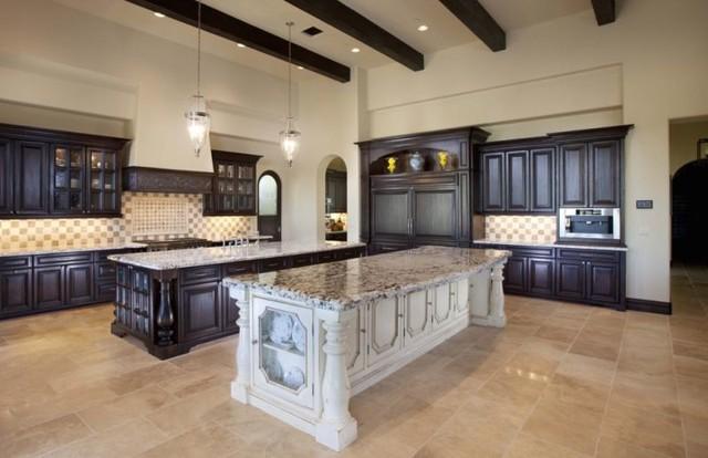 Stupendous Santa Barbara Style Home Design Mediterranean Kitchen Interior Design Ideas Gentotryabchikinfo