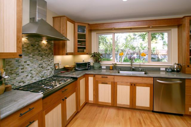 Santa Cruz Zen - Contemporary - Kitchen - other metro - by ...