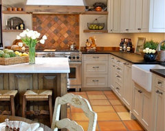 Santa Fe Country French Kitchen Remodel traditional-kitchen