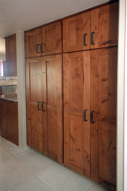 Santa fe kitchen remodel rustic kitchen other by - Kitchen cabinets southwest ...