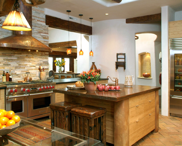 Santa Fe Style Kitchen Eclectic Kitchen San Diego By Hamilton Gray Design Inc