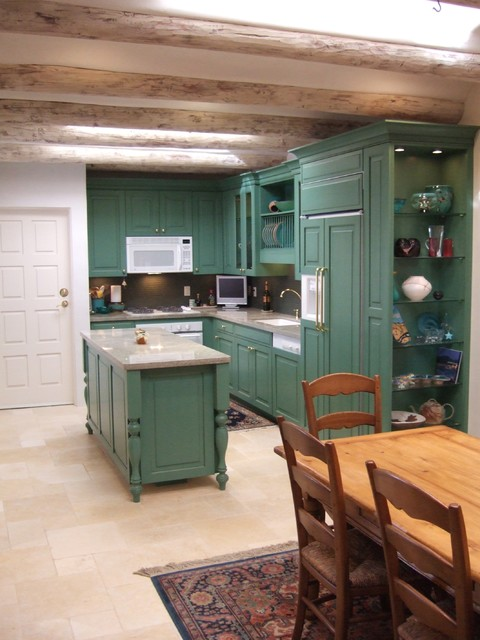 Santa Fe Style Kitchens Craftsman Kitchen