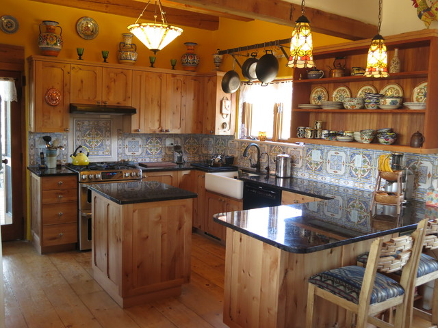 Santa Fe Style Kitchens - Southwestern - Kitchen ...