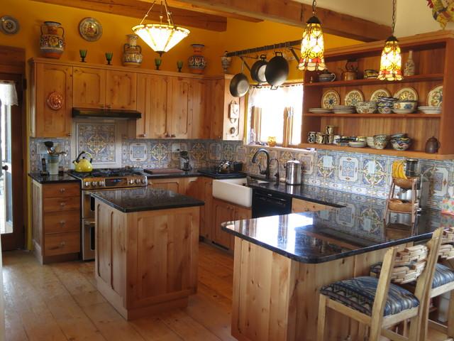Santa Fe Style Kitchens Southwestern Kitchen