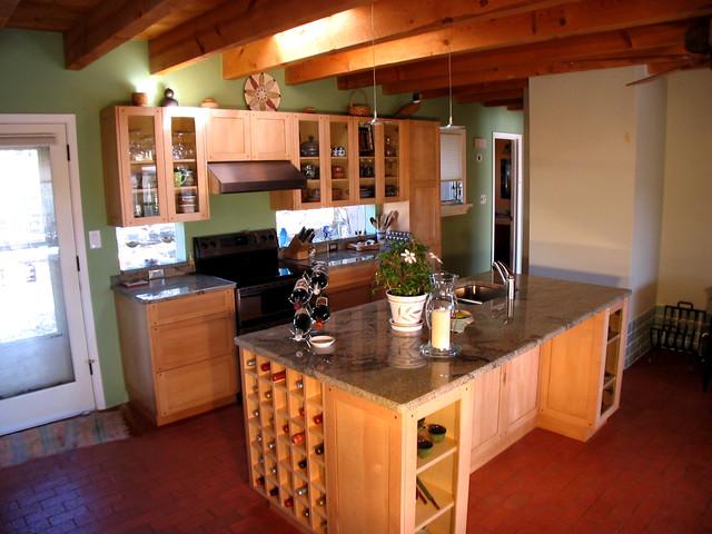 Santa fe style kitchens albuquerque by d m c d maahs for Paint and wine albuquerque