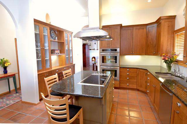 Santa Fe Style Kitchens Rustic Kitchen Albuquerque